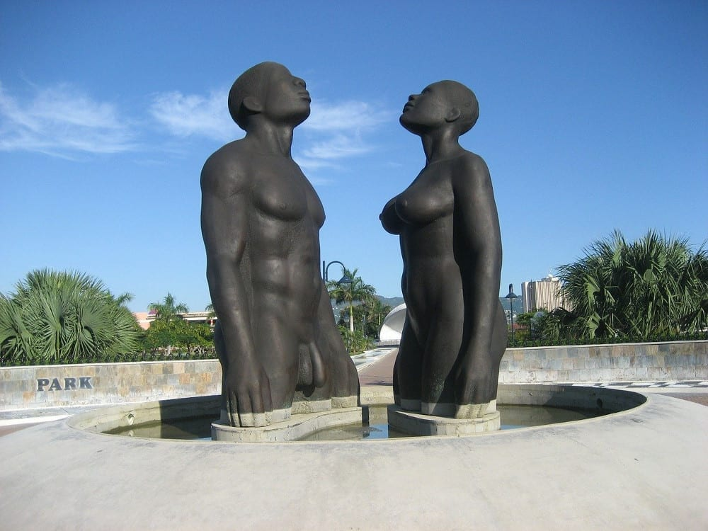Redemption Song Monument